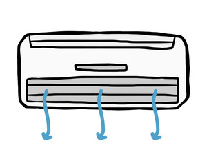 air conditioner and air flow