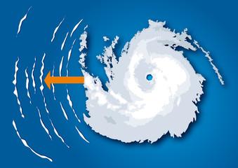 Cyclone et houle