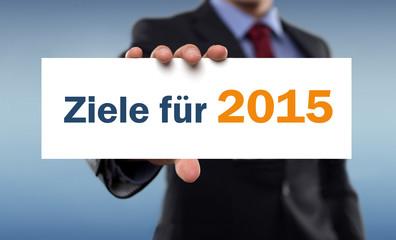 Ziele für 2015