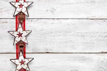 weihnachtliche Holzsterne