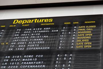 Terminal Info Board - 14