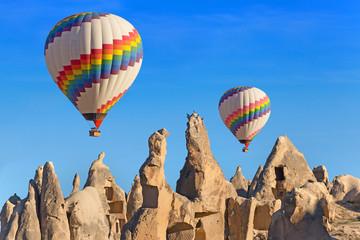 Foto op Canvas Ballon Balloons over Cappadocia, Turkey.