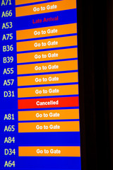 Terminal Info Board - 20