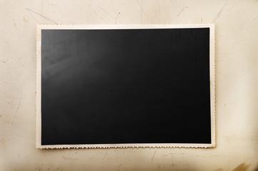 cartolina vintage nera