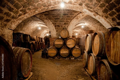 Quot Barrels In A Hungarian Wine Cellar Quot Stock Photo And