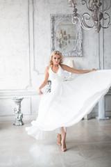Bride wedding dress portrait woman fashion