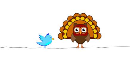 thanksgiving turkey tweet