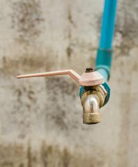 old water tap valve
