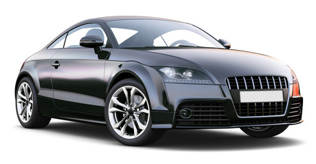 Sport coupe car