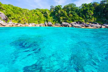 View of Thailand beach