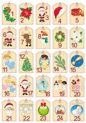 Advent Calendar-Calendario dell'Avvento