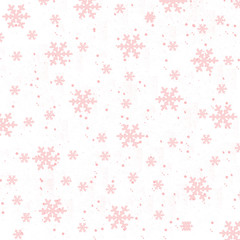Red snowy background