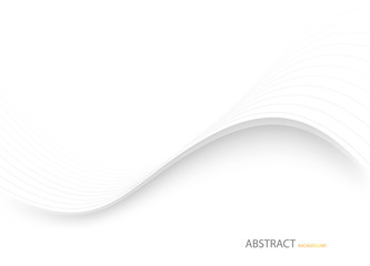 Abstract white background. Vector illustration