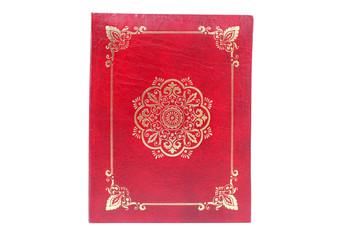 Red photo album