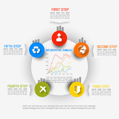 INFOGRAPHIC ELEMENT NEW STYLE BUSINESS