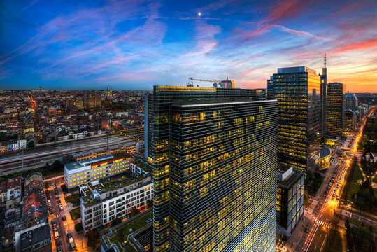 Brussels - Bruxelles - Zenith Building