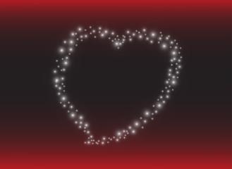 Heart background. Vector eps10.