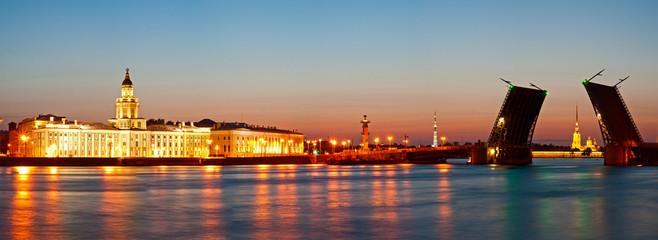 White night in St.-Petersburg