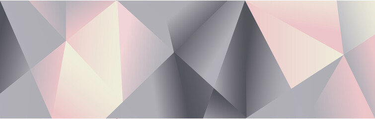 Obraz geometric bg chrome - fototapety do salonu