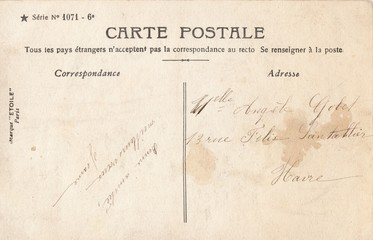 French Antique Postcard 89