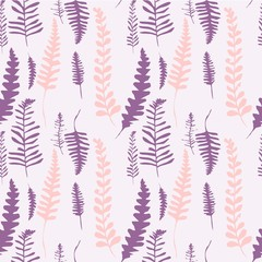 beautiful pattern with plants