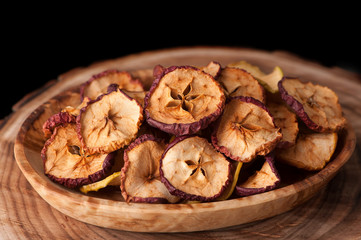 dried fruits  apples
