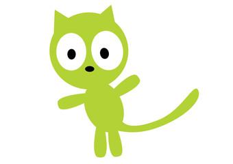 kot na dwóch łapach