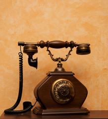 Picture of retro phone