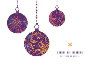 Vector textured christmas stars Christmas ornaments silhouettes