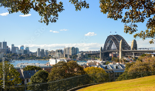 Panoramic Lookout of Sydney Harbour Bridge