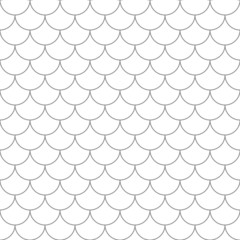Seamless pattern with fish scales.