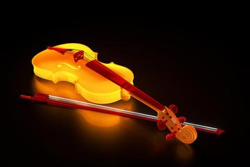 leuchtende Geige