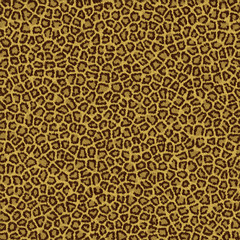 texture of print fabric striped leopard for background.