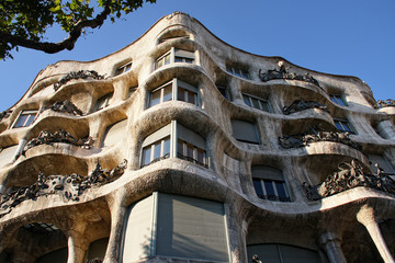Casa mila in Barselona,Spain