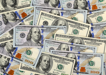 Dollars bill background