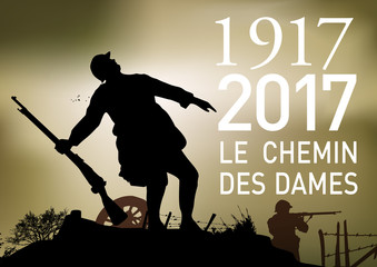 CENTENAIRE 14-18 Le Chemin des Dames