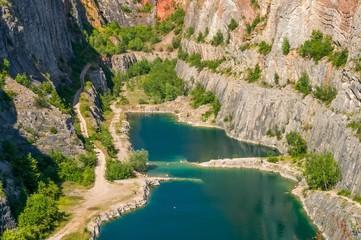 Canyon Velka Amerika in Czech republic