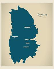 Modern Map - Örebro SE