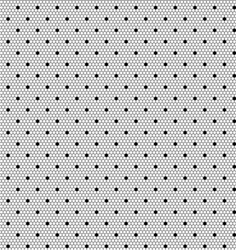 white lace dotted pattern: vector seamless background