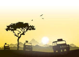 Wüste Safari Geländewagen