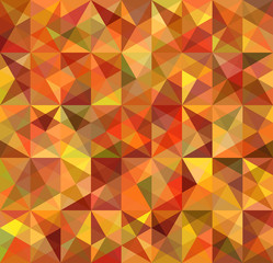 Seamless Triangle Abstract Background