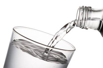 Fototapete - water glass