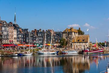 Honfleu Vieux Bassin - Lieutenance 24_ Fototapete