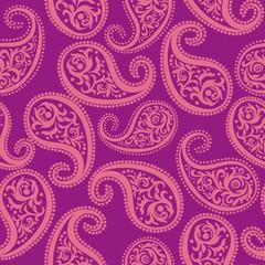 Paisley pink pattern