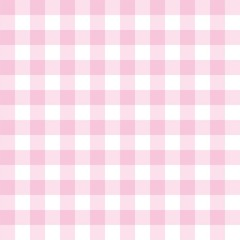 Tile vector pink and white plaid background