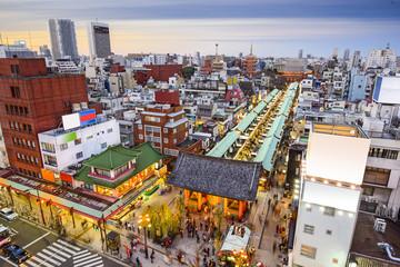 Staande foto Tokyo Asakusa, Tokyo, Japan Cityscape