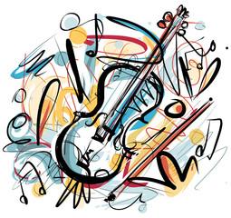 Violin Sketch