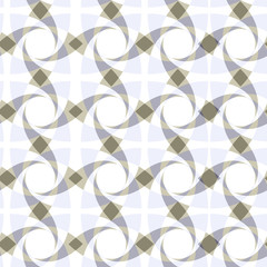 geometric seamless transparent pattern