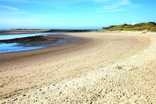 Gower Peninsula At The Loughor Estuary, Burry Port