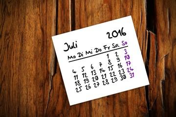 zettl brettl holztisch kalender 2016 VII